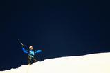 メラピークに登頂した瞬間!