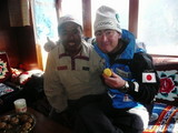 99年に一緒にエベレストに登ったアンダワ・シェルパと再会して(1)