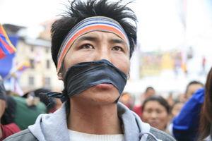 チベット人には言論の自由がない