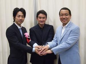 小泉さんと越智さんと