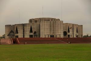 バングラディシュの国会議事堂