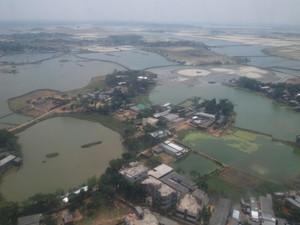 水びだしのバングラディユ