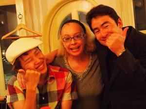 素敵な再会でした。金子さんとママと