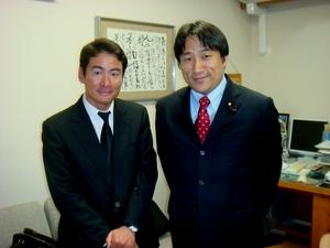 川田龍平さんと
