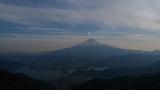 破風山付近からの富士山