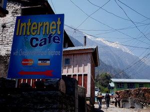 こんな所にもインターネットカフェが・・・