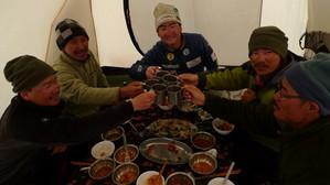 韓国隊とのお食事会(1)