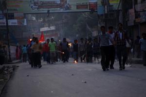 暴動と化したネパール