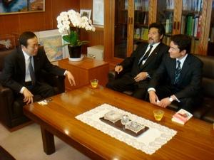 浜田大臣と2