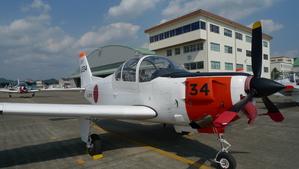私が搭乗したT-5練習機