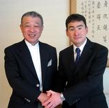笹川会長と