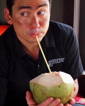 ココナッツジュースは美味しい