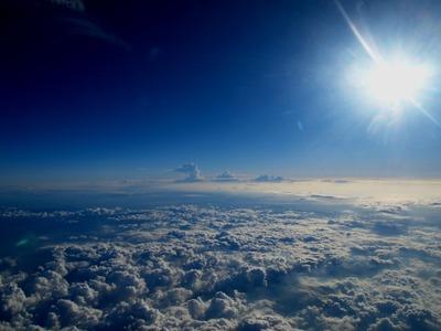 雲の形も色々。見ていて飽きないよ