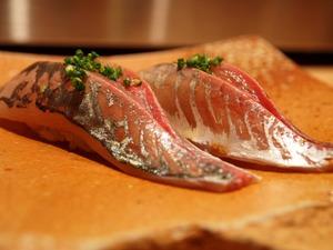 「みつ山」さんのお寿司も芸術品