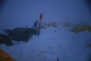 極寒のキャンプ1