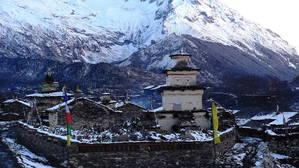 チベット文化を漂わせるサマ村
