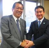 鳩山邦夫先生と環境対談