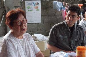 レイテで遺骨調査を続けてきた青木和子さん