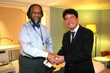 IPCC議長 ランジェンドラ・パチャウリ氏と
