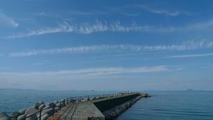 瀬戸内海の雲
