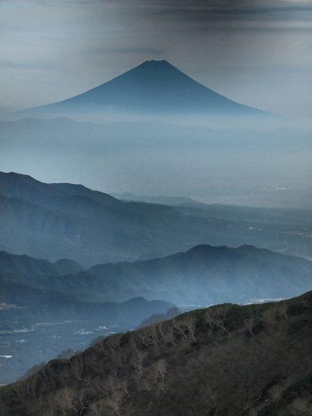8番目・横岳からの富士山