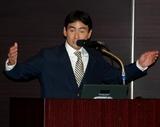セッションにてスピーチ