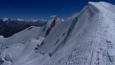 山頂付近からの景色 撮影野口