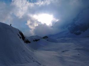 寒い寒いベースキャンプ