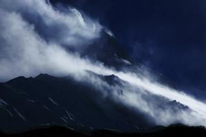 サマ村からのマナスル峰,本当にこの山に登れるのだろうか??