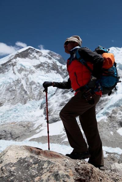 もう間もなくエベレスト・ベースキャンプ
