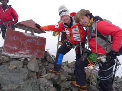 ルエンゾリ峰登頂!