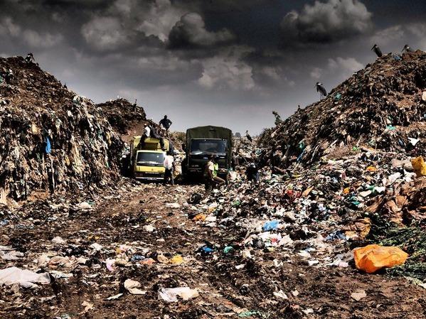 11番・ナイロビ市郊外にあるゴミ捨て場(ナイロビ・ケニア)
