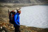美しいパンツポカリ(氷河湖)にうっとり
