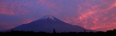 富士山清掃活動の帰り道