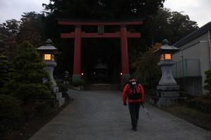 浅間神社からスタート
