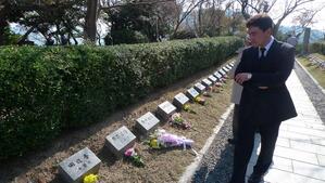 回天で戦死された1つ1つの墓標に胸がつまる