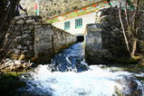 タモーにある水力発電所