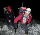 午前4時山頂アタック開始