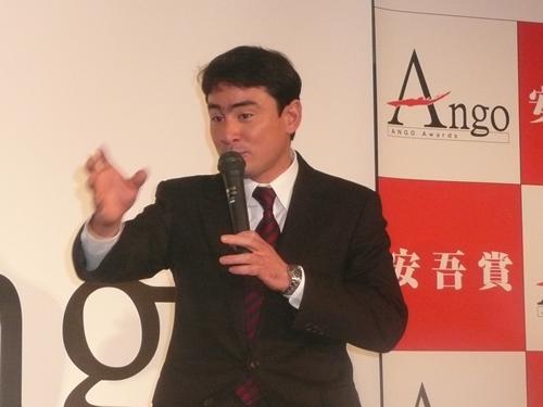 第2回安吾賞受賞者発表会に出席しました