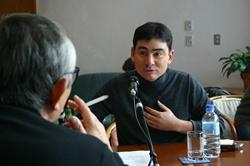 倉本聰氏のラジオ番組「富良野からの風を」収録