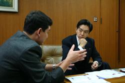 富士急行社長・堀内光一郎氏と対談