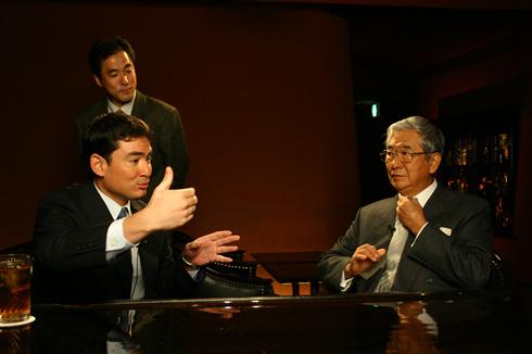 野口健 石原慎太郎東京都知事と対談