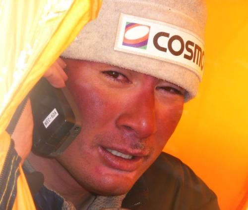 2007年チョモランマ野口健